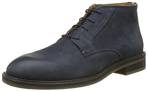Tommy Hilfiger R2285ounder 3n, Oxfords Homme Gris (Midnight)