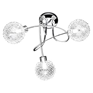 WOFI Arc Ceiling Lamp with 3 Lamps