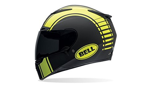 Bell Caschi Street 2015 RS-1 High Visibility Adult Casco, Liner Nero Opaco, XXL