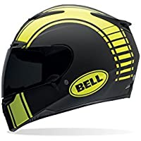 Bell Caschi Street 2015 RS-1 High Visibility Adult Casco, Liner Nero Opaco, L