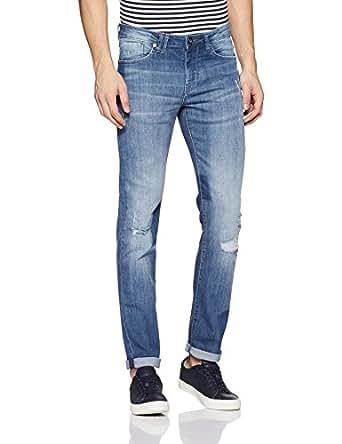 Flying Machine Men's Skinny Fit Jeans (FMJN3980_Blue_30W x 33L)