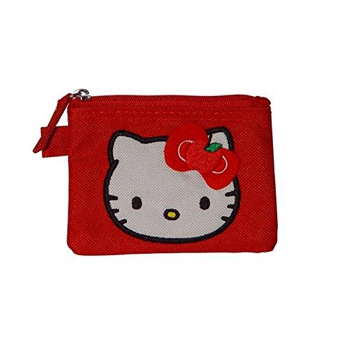 Hello Kitty Sanrio Apple (Hello Kitty Geldbörse flach Geldbeutel Apple rot von Sanrio)