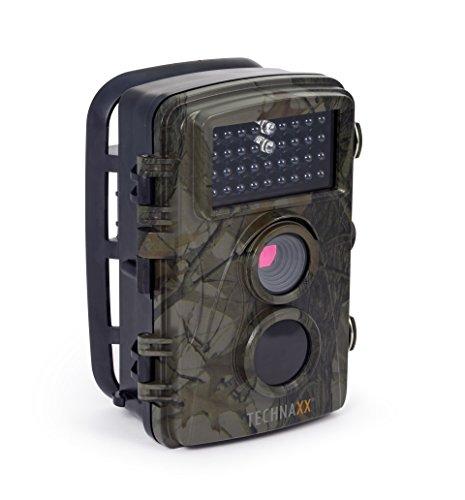 Cam TX-69 Full HD Outdoor Überwachungskamera Wildkamera Nachtsicht 12 MP 1080P Wasserdicht Kabellos 0,6 Sekunden Auslösezeit, Bewegungsmelder Fotofalle ()