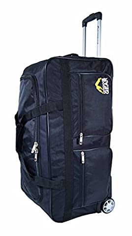 Outdoor Gear Ballistic Nylon Luggage Wheeled Holdall Travel Trolley Suitcase Holiday Weekend Bag - Medium 24