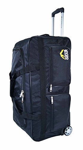 outdoor-gear-ballistic-nylon-luggage-wheeled-holdall-travel-trolley-suitcase-holiday-weekend-bag-med