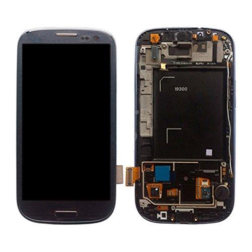 PANTALLA COMPLETA LCD + TACTIL + MARCO SAMSUNG GALAXY S3 I9300 AZUL