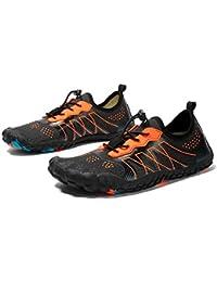 Lixada Zapatos de Agua Respirables Secado Rápido Ultra Ligeros Zapatillas para Playa Buceo Surf Deportes Acuaticos