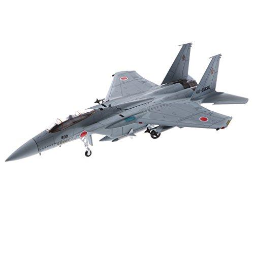 B Blesiya Modèle de Simulation Avion Force Auto - Defense Aérienne du Japon F-15J Modèle d'imitation de Véhicule de L'armée Militaire Échelle 1/100