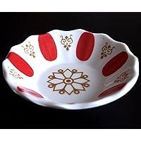 Set di 6–Classico vetro sotto piatto in melamina rosso Tè–Cay tabagi
