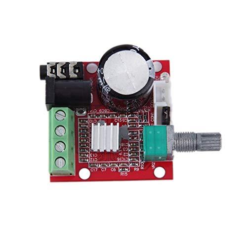 2 * 10W Dual Channel Hi Fi PAM8610 Mini-Verstärkerplatine 12V für Computer-Audio