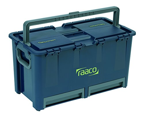 raaco 136600 Werkzeugkoffer Compact 47, dunkelblau