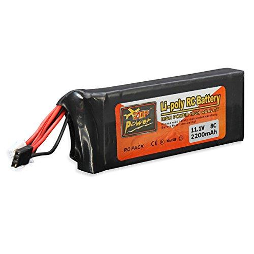 Bluelover-ZOP-Power-111V-2200MAH-8C-Lipo-Battery-For-FUTABA-Transmitter