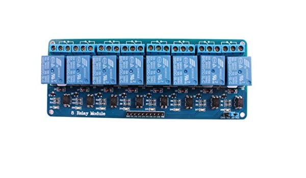 Haoyishang 8/canaux 12/V Relais module Shield pour Arduino UNO 2560/1280/Arm Pic AVR Stm32