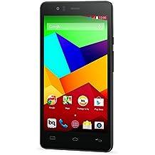BQ Aquaris E5 LTE - Smartphone libre Android (pantalla 5 pulgadas, cámara 13 Mp. 16 GB, Qualcomn Snapdragon 410 Quad-Core A53, 2 GB RAM), color negro