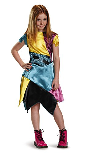 Kostüme Nightmare Für Before Kinder Christmas (Disguise Sally Child Classic Nightmare Before Christmas Disney Costume, Medium/7-8 by)