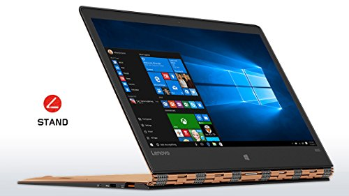 """Lenovo Yoga 900S-12ISK Portatile Convertibile, Display da 12.5"""" Full HD IPS Multi-touch, Processore Intel Core m5-6Y54, RAM 8 GB, 128 GB SSD, Scheda Grafica Integrata Intel, Oro Champagne"""