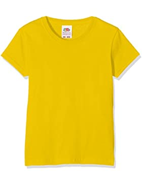Fruit of the Loom Mädchen T-Shirt Valueweight T Girls