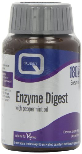 Quest Enzyme Digest with Peppermint Oil 180 Tablets Test