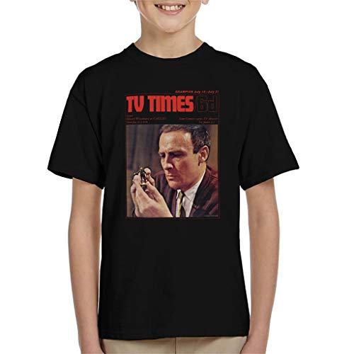 TV Times Edward Woodward 1967 Cover Kid's T-Shirt - Man-shirt Wicker