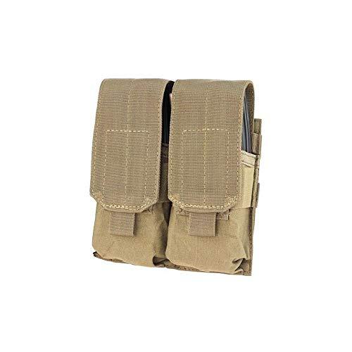 Fidragon Dual Ladegerät Pocket M4 Desert Color Soft Verschluss (Tan ST311T) Dual Pocket Color