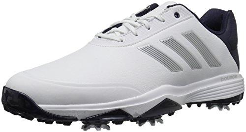 127fc73f685578 adidas - Adipower Bounce da Uomo, Bianco (Infradito Colorati Estivi, con  finte Perline