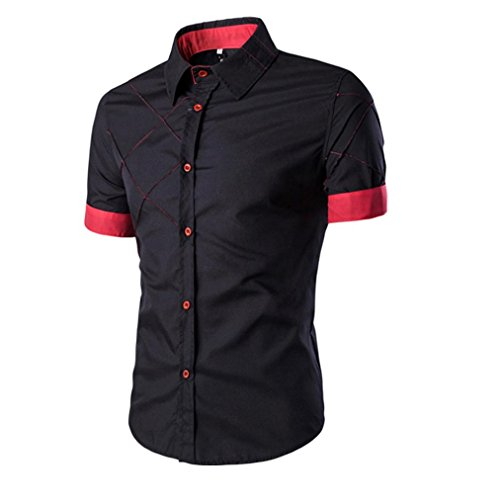 tefamore-camisa-de-manga-corta-para-hombre-de-moda-ropa-ajustado-formal-casual-de-fiesta-tamanom-neg
