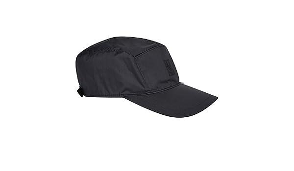 88fb8684 Belstaff Cap Pearl Black Belfresh Weatherproof Fabric 719003 Size Medium  Mens: Amazon.co.uk: Clothing