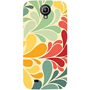 Casotec Colorful Pattern Print Design Hard Back Case Cover for Samsung Galaxy S4 i9500