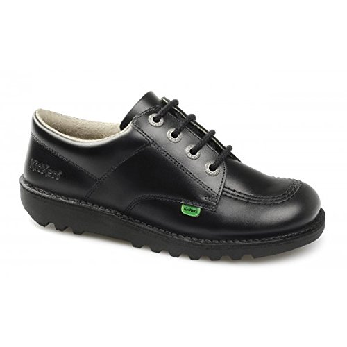 Kickers KICK LO M CORE Mens Leather Lace-Up Shoes Black 43