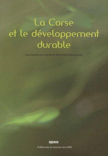 La Corse et le développement durable