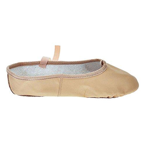 Starlite Basic Soft Leather Scarpette per danza classica Rosa Taglia 35