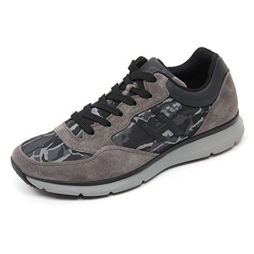 B9846 sneaker uomo HOGAN TRADITIONAL 20 15 scarpa H 3D grigio shoe man Grigio