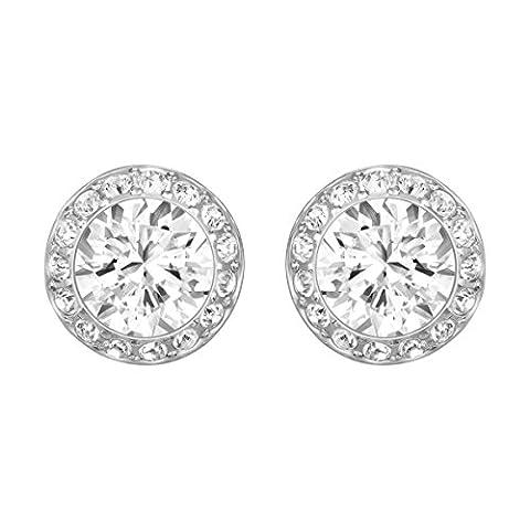 Swarovski Silver Angelic Pierced Earrings