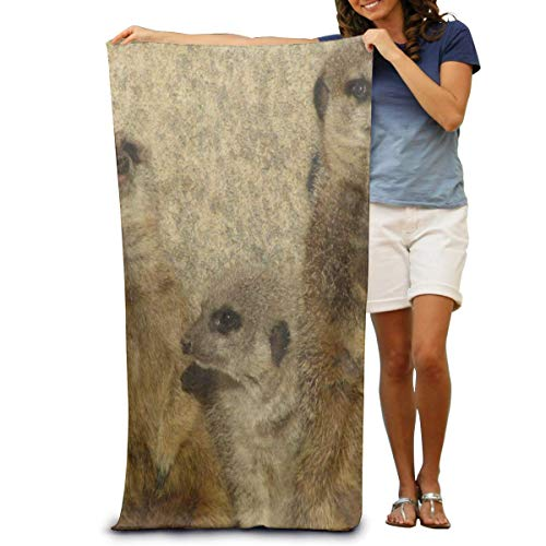 Hicyyu Super Soft Bath Towel Rose Gold Marble Wallpaper Quick-Drying Beach Towel Travel Blanket Swimming Spa Towel Large Size 31