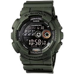 Casio G-Shock Reloj Digital para Hombre con Correa de Resina – GD-100MS-3ER