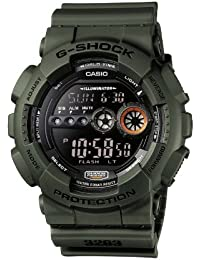 Casio G-Shock – Herren-Armbanduhr mit Digital-Display und Resin-Armband – GD-100MS-3ER