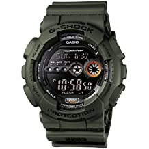 Casio G-Shock – Reloj Hombre Digital con Correa de Resina – GD-100MS-3ER