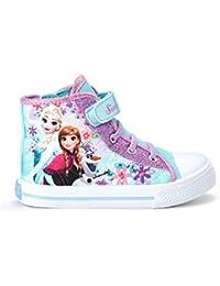Disney El reino del hielo Chicas Deportivas altas - Turqueza