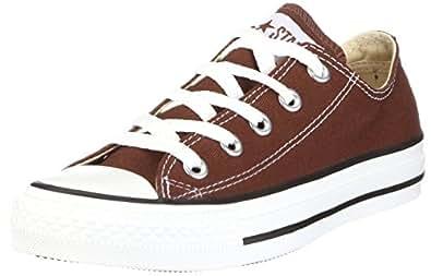 CONVERSE Chuck Taylor All Star Seasonal Ox, Unisex-Erwachsene Sneakers, Braun (Chocolate), 35 EU
