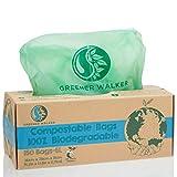 Greener Walker 100% Kompostierbare biologisch abbaubar 10L Müllbeutel-150 Müllsäcke