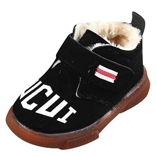 Bild von cinnamou Baby-Kind-beiläufige Schnee-Schuhe wärmen Sneaker Boots Kids Baby Winter Shoes