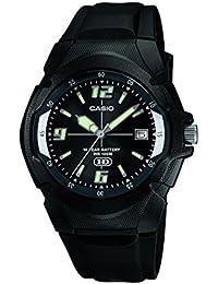 Casio Enticer Analog Black Dial Men's Watch - MW-600F-1AVDF (A505)