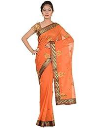 Paheli Silk Saree (Paheli003_Orange)