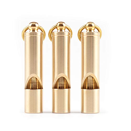 Zoom IMG-3 busirde mini brass whistle portachiavi