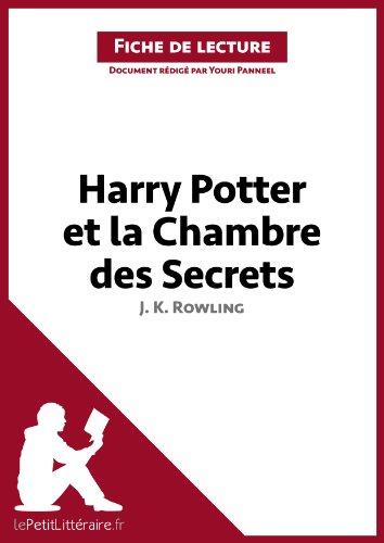 Harry Potter et la Chambre des secrets de J. K. Rowling (Fiche de lecture): Résumé complet et analyse détaillée de l'oeuvre por Youri Panneel
