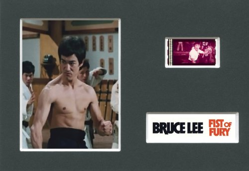 Fist Of Fury (B) - Bruce Lee - montato 35 mm Movie Film Cell