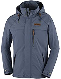 Columbia Summit Rush Full Zip - Chaqueta polar para hombre, color negro, talla S amazon Otoño/Invierno