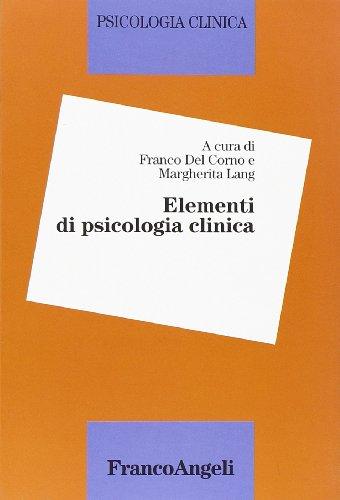 Elementi di psicologia clinica