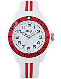 Mango A68359-2H0A - Reloj para mujeres, correa de silicona