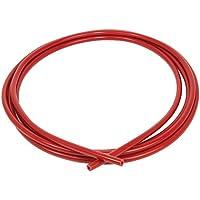 Ramair Filters vac5mm-3m-rd de silicona manguera de vacío, 5mm x 3m), color rojo